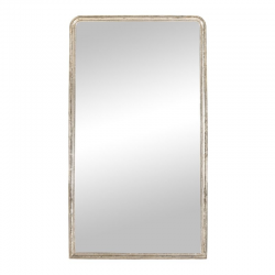 Louis Philippe style silver mirror...