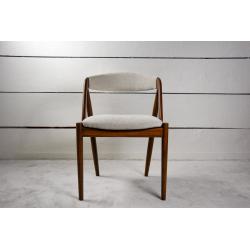 12 Solid teak Scandinavian chairs
