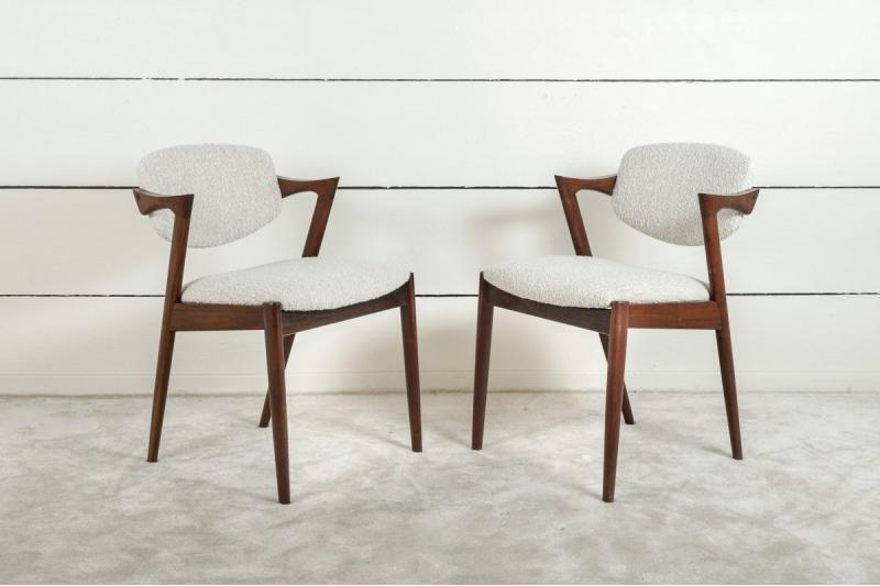 12 X Scandinavian Chairs By Kai Kristiansen 1960