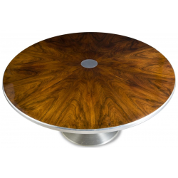 Rosewood round table by Poul Cadovius