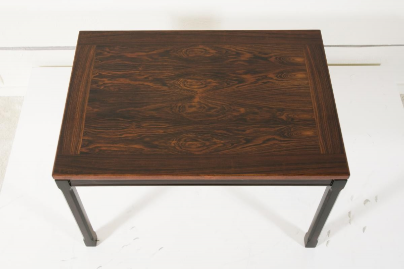 Pair of solid rosewood coffee tables 1960s