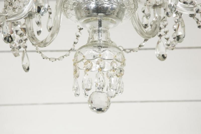 Venetian crystal chandelier 1960s