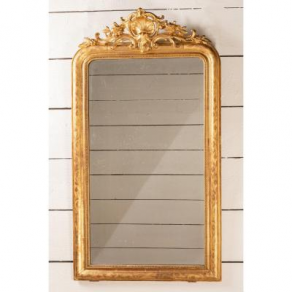 Louis Philippe Mirror In Golden Wood...