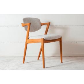 8 Kai Kristiansen Chairs In Solid Oak...