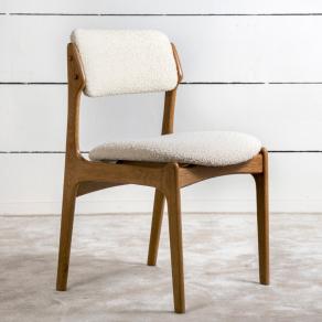 1960's Scandinavian solid oak chair